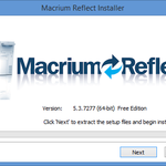 Macrium Reflect Tutorial 1 – Installation