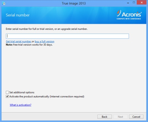 Install Acronis True Image 2013 - Step 4