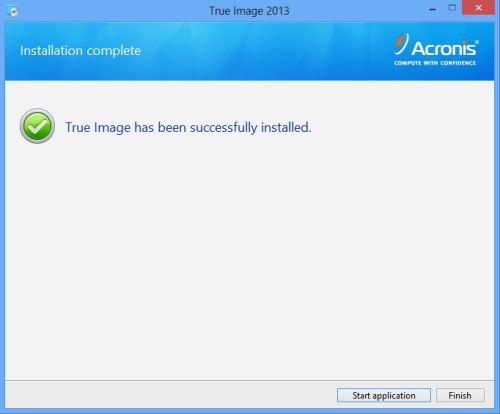 Install Acronis True Image 2013 - Step 6