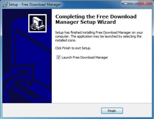 Install Free Download Manager - Step 11
