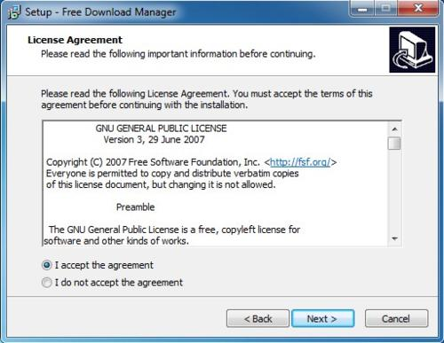 Install Free Download Manager - Step 2
