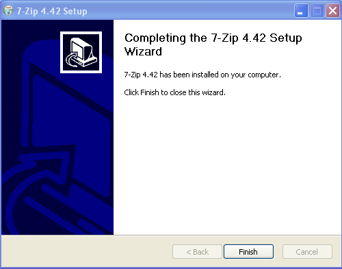 Install 7zip - Step 3