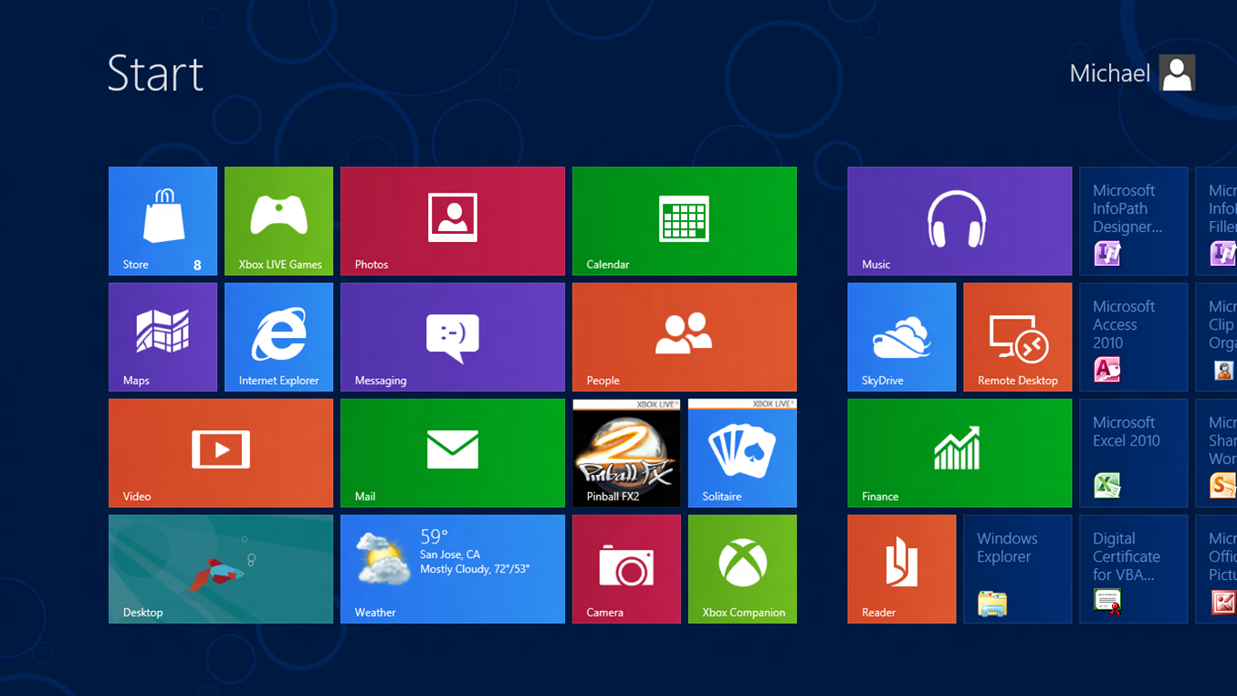 Windows 8 1 master the new interface see what 39 s new for 1 window