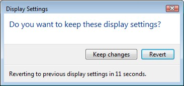 Changing Screen Resolution in Windows Vista - Step 3