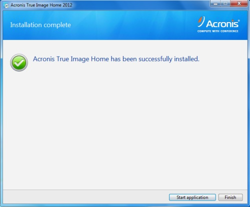 Install Acronis True Image 2012 - Step 6