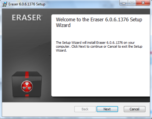 Protect your privacy with Eraser, a free file eraser and secure wipe