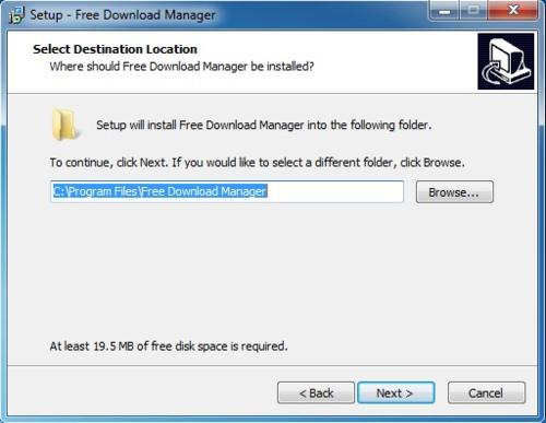 Install Free Download Manager - Step 7