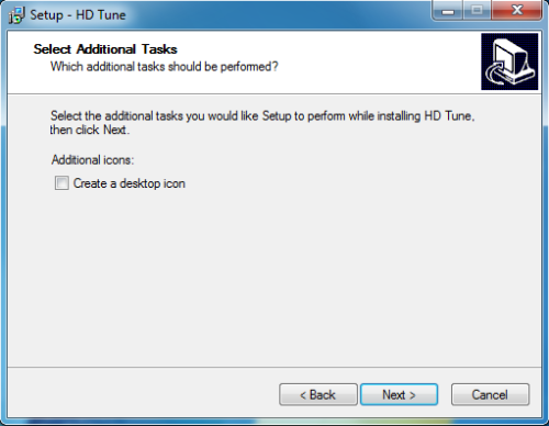 Install HD Tune - Step 5