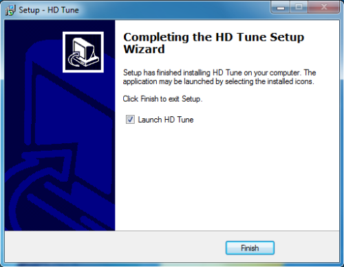 Install HD Tune - Step 7
