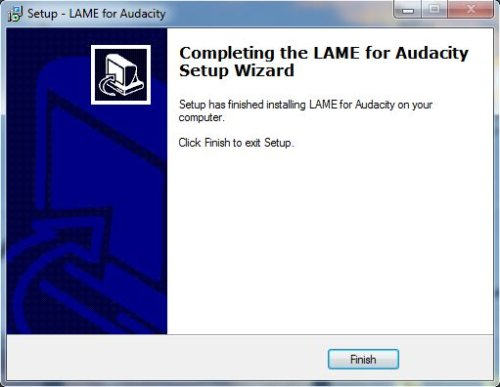 Install LAME - Step 5
