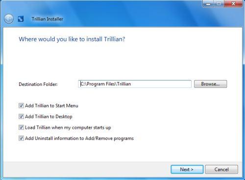 Trillian 5 Tutorial 1 - install Trillian 5 | Top Windows Tutorials